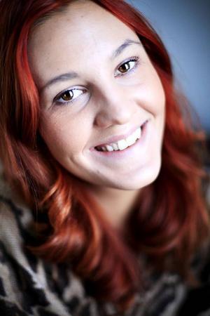Andréa Lundquist börjar  synas på fler och fler scener runt om i länet.