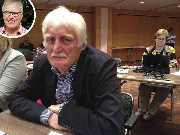 David Bell (MP) chockades av Christer Siwertssons (M) uttalande (Siwertsson på den infällda bilden).