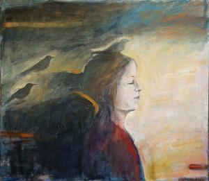 Ingela Aggers målning