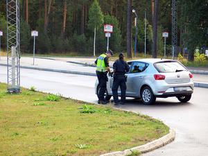 Under den halvtimme som Gefle Dagblad var på plats förra veckan stannades fem bilister.