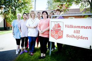 Besviken personal på Solhöjden...