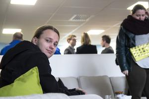 Klas Nilsson, 22 år, tror att Navet kan göra nytta för honom och andra unga som saknar arbete.