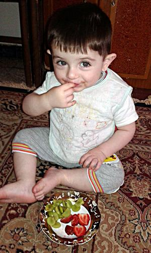 Sonen Adnan har aldrig fått träffa sin pappa.