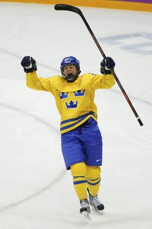 Sundsvall Wildcats Erica Udén Johansson har gjort fyra mål för Sverige under hösten, några av dem kom under turneringen i Sundsvall.