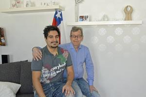 Daniel Wiklund planerar nu en resa till Santiago tillsammans med pappa Leif.