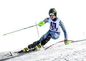 Filip Vennerström slutade på en fjärdeplats i superkombinationen i OS.