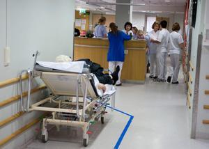Sjukvårdspartiet vill bland annat att överbelastningen av Sundsvalls sjukhus stoppas. Bild: Bertil Ericson/TT