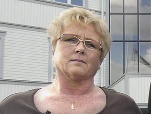 Anna-Greta Söderlund fackordförande vid Svenska Fönster.