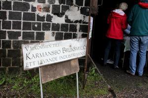 Järnets dag arrangerades av föreningen Karmansbo bruksmiljö.