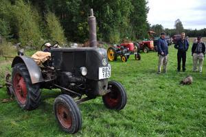 Den som är intresserad av gamla traktorer kan med fördel besöka Bondens dag i Husby på söndag, då sådana kommer att visas upp.
