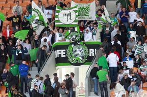 5 322 personer följde derbyt från läktarna.