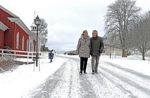 För 10 år sedan övertog familjen Spendrup anläggningen Loka Brunn. Sedan dess har Spendrup-koncernens engagemang i Hällefors kommun bara ökat, med köp av Hellefors bryggeri och Grythyttans Gästgiveri samt övertagande av driftsansvar för Måltidens Hus. På bilden makarna Mia och Jens Spendrup.