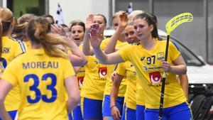 Sverige fick jubla 15 gånger i VM-premiären.