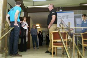 Tjänstemän från Nordanstigs Bostäder och Mittsverige Vatten berättade om olika planer.