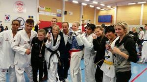 Framgångsrika taekwondospelare från IF Gävle Taekwondo Hapkido.