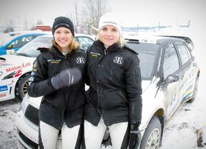 Andra tävlingen någonsin på jämtländska rallyvägar för Ramona Karlsson och co-drivern Miriam Walfridsson.