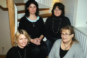Bakom Corab Assistanse finns Helena Holm, Jessica Fernström, Helena Westman och Anette Lindh.