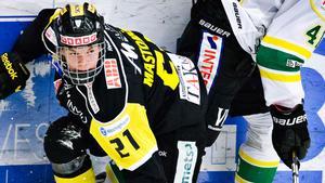 FÖRLÄNGER. Christopher Mastomäki, till vänster, förlänger med VIK över kommande två säsonger. Även Mathias Linnarud kritar på för två nya år.