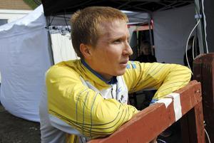 Jerker Lysell ligger bra till inför finalen i Silva League, som avgörs utanför Edsbyn.