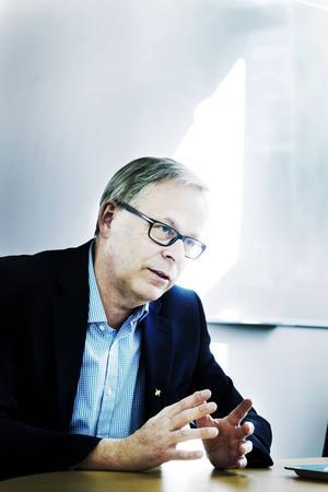 Kjell Norman, tillförordnad hälso- och sjukvårdsdirektör för Landstinget Gävleborg.