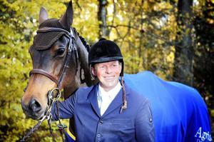 Kan vinna. Jens Fredricson och hästen Lunatic kan bli vinnare på ridsportgalan.