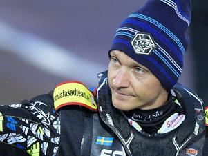 Fredrik Lindgren kämpar för att hinna tillbaka efter sin handskada och kunna utmana om karriärens första individiuella VM-medalj. Foto: Mikael Fritzon/TT