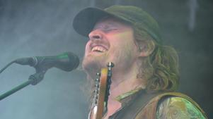 Singer-songwritern Daniel Norgren på den sista upplagan av Gagnef-festivalen. FOTO: Fredrik Caresten