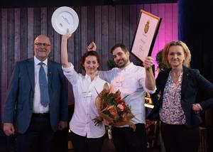 Vinnare i tävlingen Matverk: By Leo. Pressbild. Foto: Fredrik Sederholm