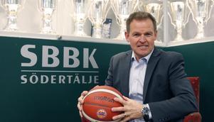 Johan Strömwall vill att basketen ska ta mer plats i Södertälje.