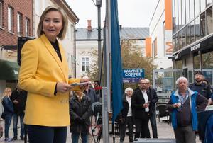 När Ebba Busch Thor höll valmöte i Västerås på första maj gick allt på räls. Sedan började partiets abortmotstånd att diskuteras.