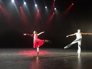 Andlöst och vackert dansat av Cecilia Yang och Samuel Lejon.