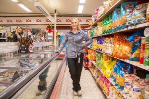 Ica i Trönö är Emelie Stjernfelts första egna butik.