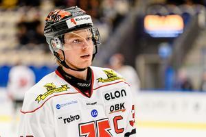 Christopher Mastomäki håller inte med Jonas Ludvigsson i dennes kritik mot Örebro Hockey. Bild: Jonas Ljungdahl/Bildbyrån
