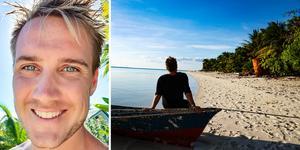 Västeråsaren Carl-Johan Kihl, 30, bor i Filippinerna, efter att ha rest runt i världen senaste tio åren. Foto: Privat