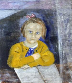 Ett uttrycksfullt porträtt av Elin Ståhl.