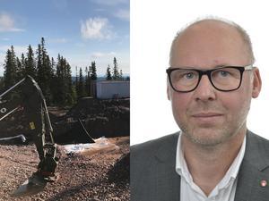 Patrik Engström (S) har reagerat på DD:s artikelserie om byggfusk. Foto: Byggnads, Riksdagen