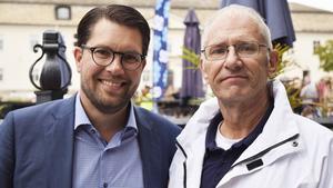 Jimmie Åkesson och Mats Nordberg.