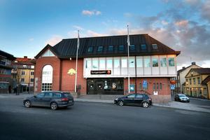 Roslagens sparbanks huvudkontor i centrala Norrtälje.