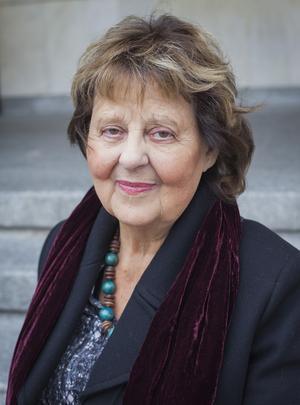 Anita Haglöf (f. 1938) arbetade på Dramaten i två decennier innan hon blev anställd av Ingmar Bergman. Därefter jobbade hon hos Erland Josephson. Foto: Sevda Svensson