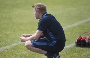 Marcus Larsson – tränare för topplaget Sandvikens IF.