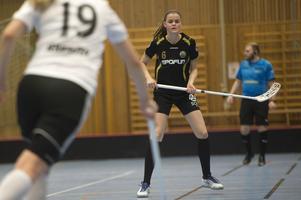 Linn Haglunds Klockarberget föll mot topplaget Thorengruppen trots en i stora delar bra prestation.