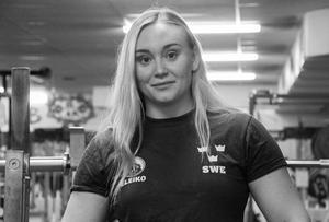 Clara Fridéns 122,5 kilo räckte till VM-brons.