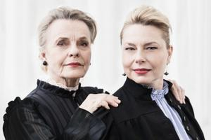 Marie Göranzon och Helena Bergström. BIld: Mathilda Rahm