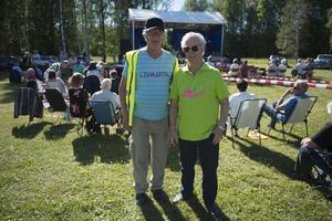 Gunnar Wallin och Dan Lundqvist från PRO som är hjärnan bakom dagen.