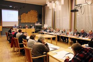 Det behövs mer debatt i Norberg, anser Demokraterna. Bilden: Möte i kommunfullmäktige.