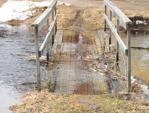 På badplatsen i Toftbyn ökar flödena snabbt.