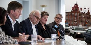 De fem partierna  i Falualliansen vill nu utreda lösningar på trafikproppar i centrum. Foto: Christian Larsson, Karin Sundin