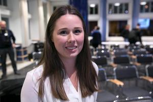 Sofia Hellsten berättar att föreningen Jordbrukaren med sex flerbostadshus nu får möjlighet att tycka till om värderingen.