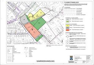 Detaljplan för ny förskola i korsningen Gränsgatan/Bergomsvägen.