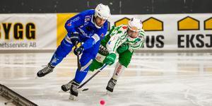 Joakim Hedqvist gjorde 1–0 för Vänersborg redan efter 36 sekunder.